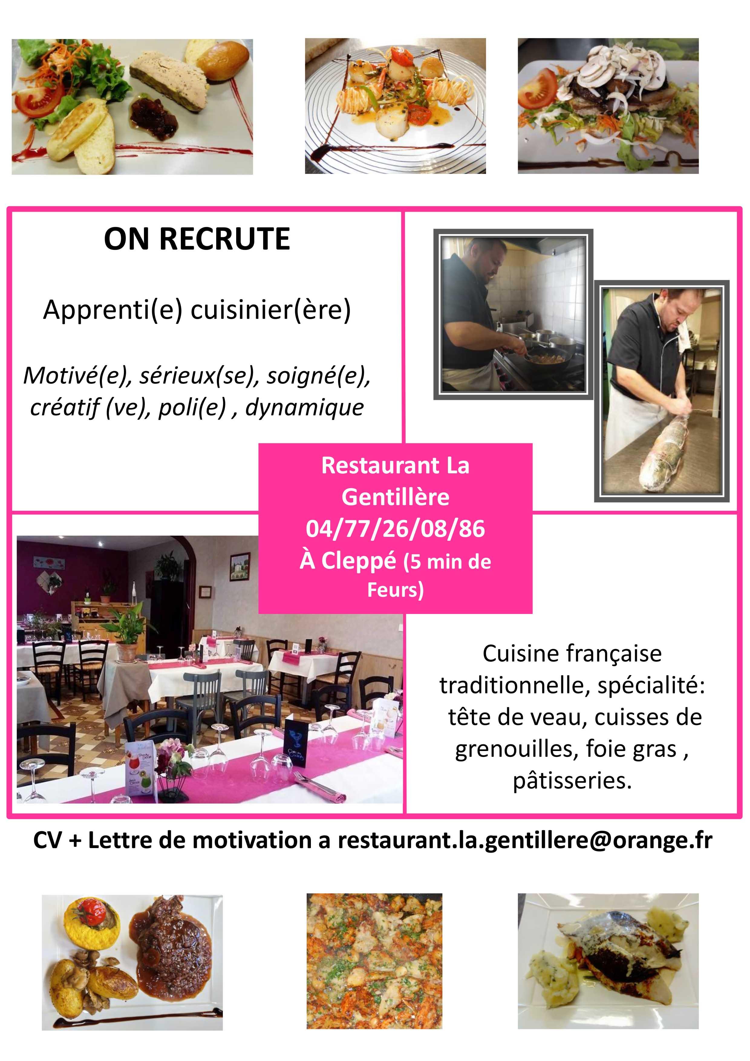 Restaurant Traditionnel Traiteur A Cleppe Dans La Loire 42